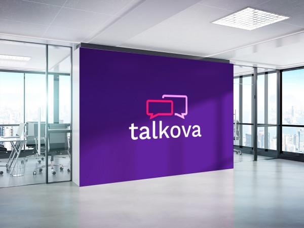 Sample branding #3 for Talkova