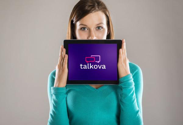 Sample branding #1 for Talkova