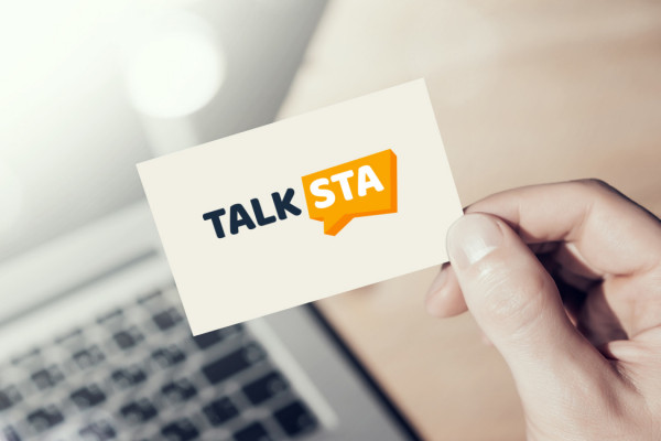 Sample branding #1 for Talksta