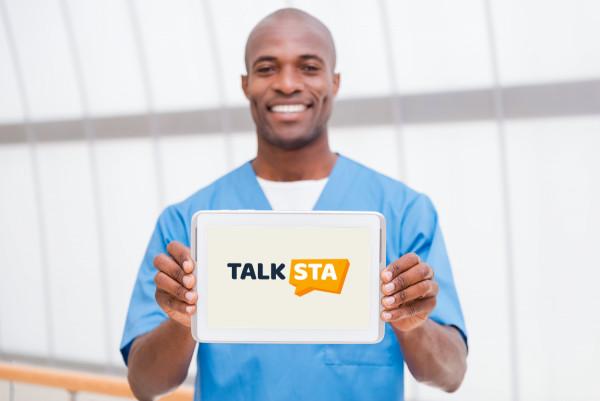 Sample branding #3 for Talksta