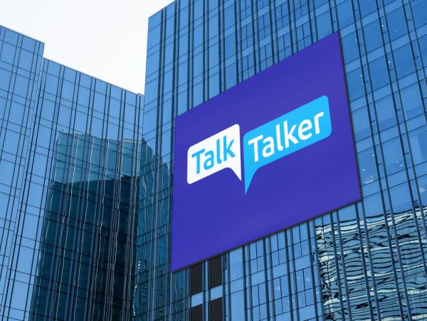 Sample branding #3 for Talktalker