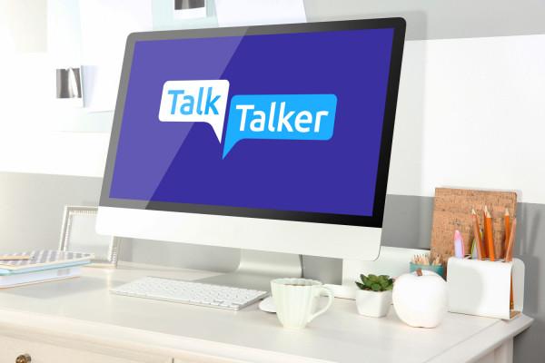 Sample branding #1 for Talktalker