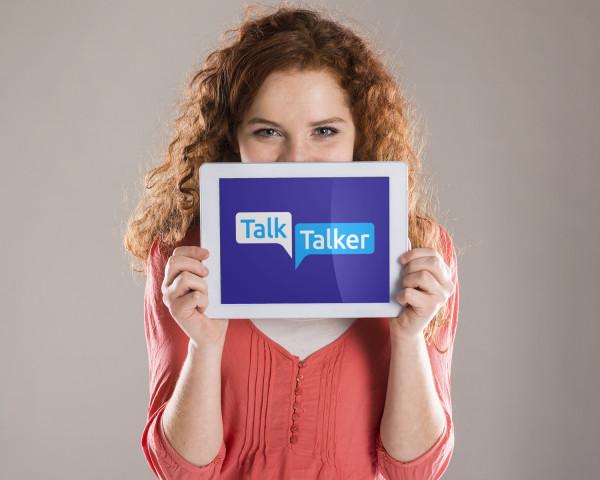 Sample branding #2 for Talktalker