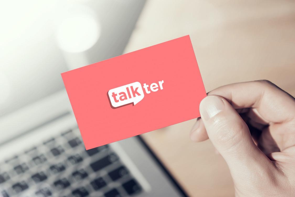 Sample branding #2 for Talkter