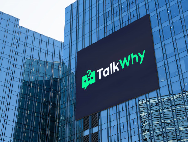 Sample branding #1 for Talkwhy