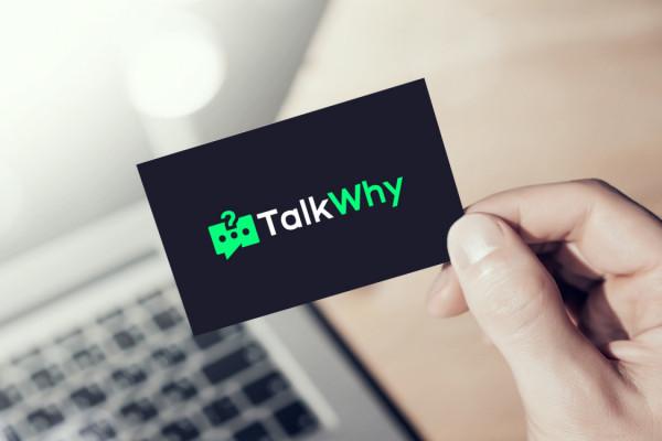 Sample branding #3 for Talkwhy