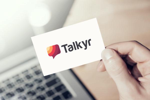 Sample branding #3 for Talkyr
