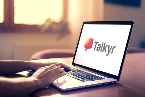 Sample branding #2 for Talkyr