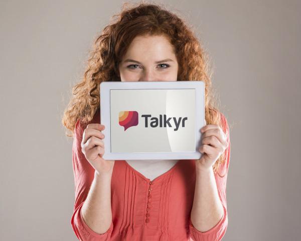 Sample branding #1 for Talkyr