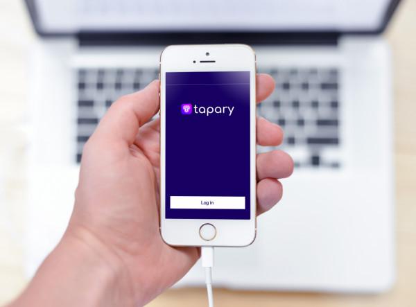 Sample branding #1 for Tapary