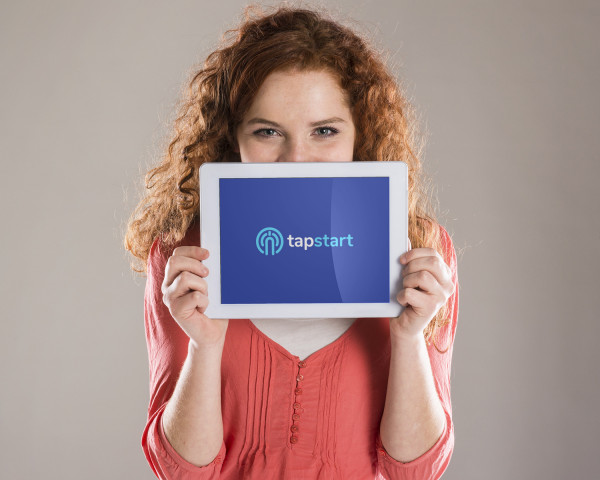 Sample branding #2 for Tapstart