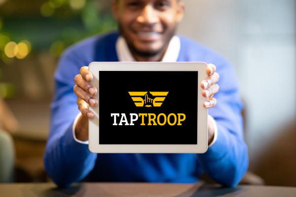 Sample branding #2 for Taptroop