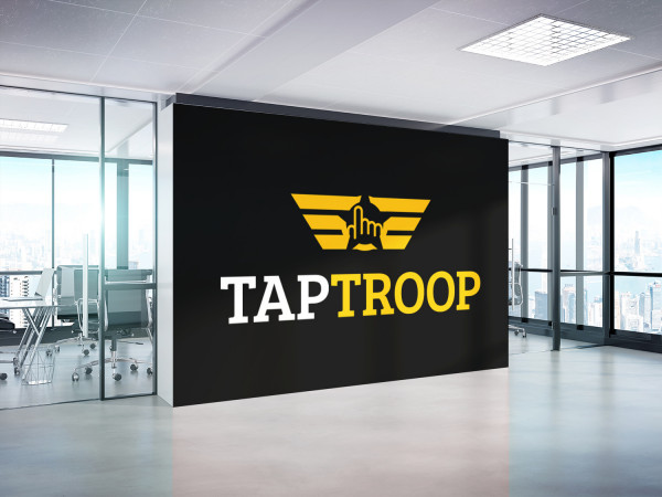 Sample branding #3 for Taptroop