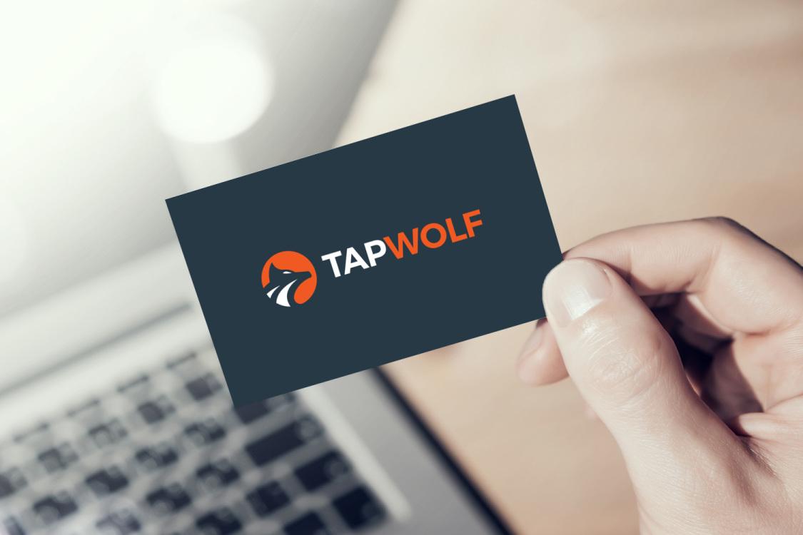 Sample branding #2 for Tapwolf
