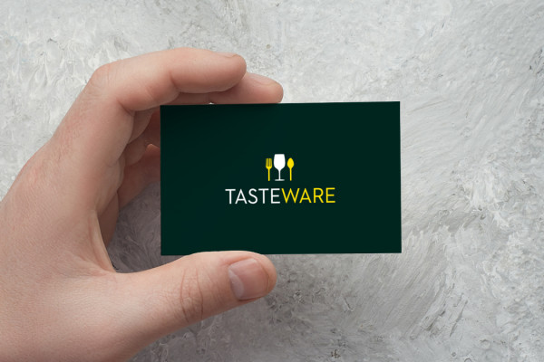 Sample branding #1 for Tasteware