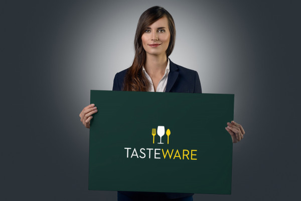 Sample branding #3 for Tasteware
