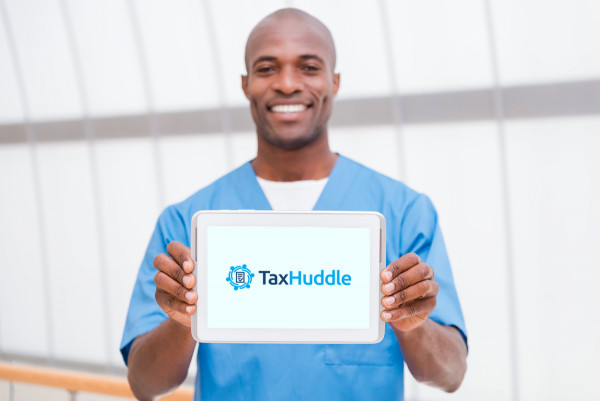 Sample branding #2 for Taxhuddle