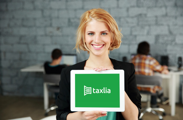 Sample branding #1 for Taxlia