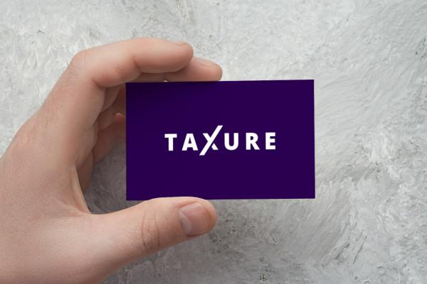 Sample branding #1 for Taxure