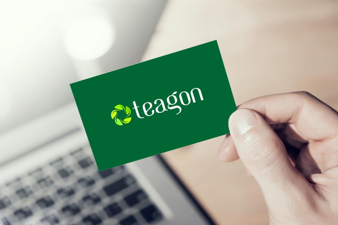 Sample branding #1 for Teagon