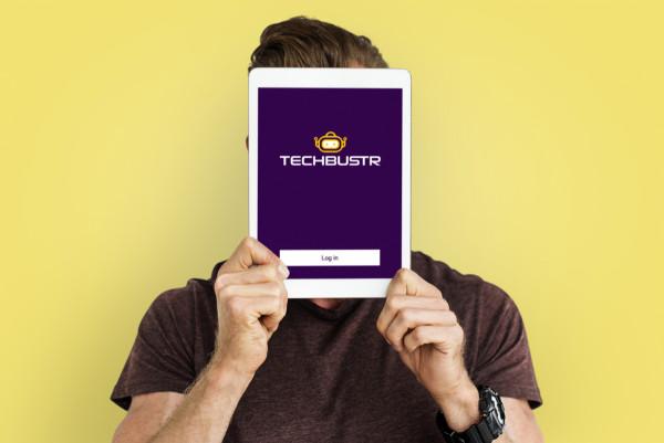 Sample branding #2 for Techbustr