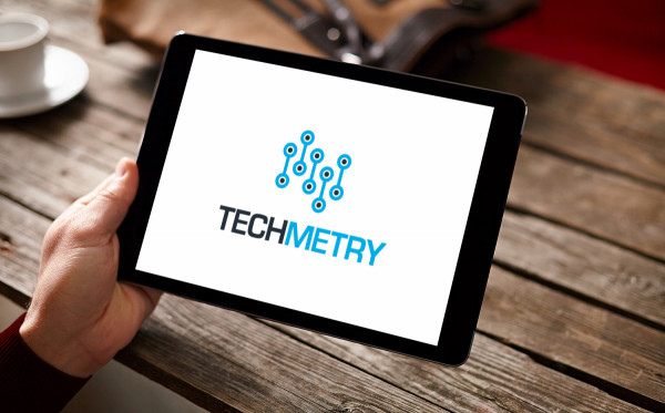 Sample branding #2 for Techmetry
