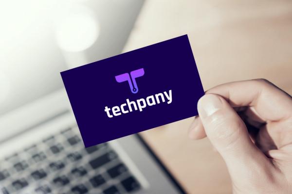 Sample branding #3 for Techpany