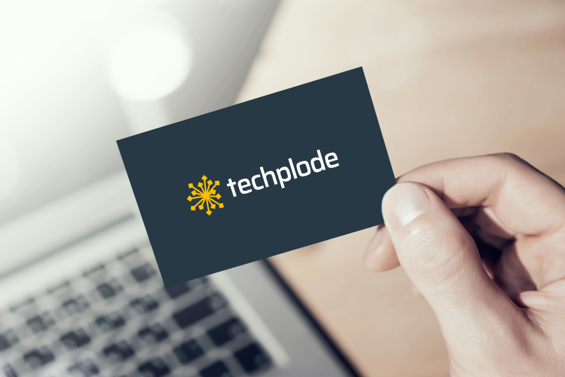 Sample branding #2 for Techplode