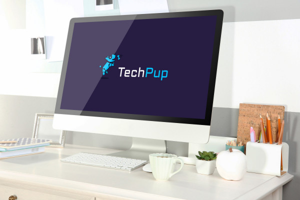 Sample branding #1 for Techpup
