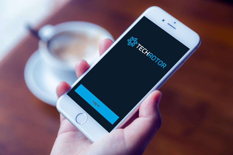 Sample branding #3 for Techrotor