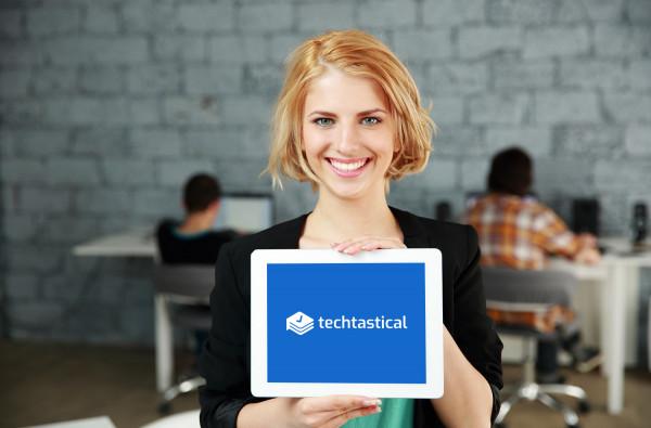 Sample branding #1 for Techtastical