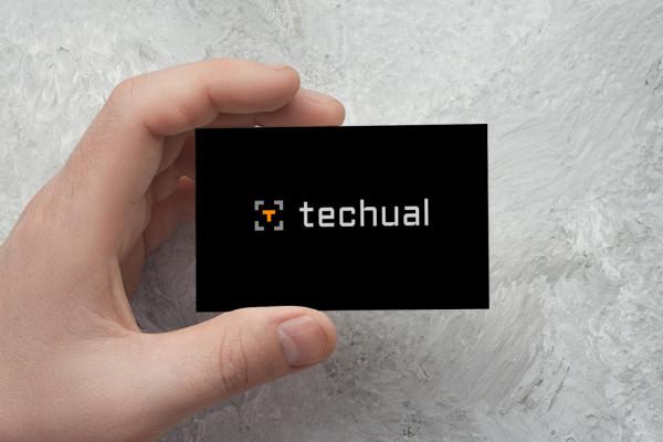 Sample branding #3 for Techual