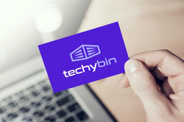 Sample branding #1 for Techybin