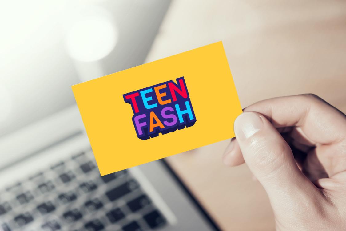 Sample branding #2 for Teenfash
