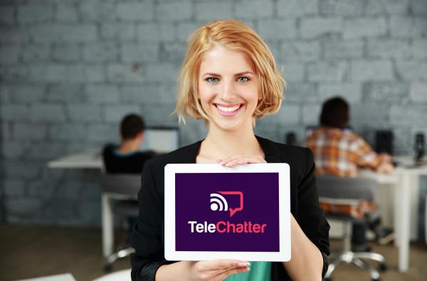 Sample branding #2 for Telechatter