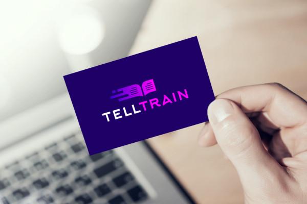 Sample branding #2 for Telltrain
