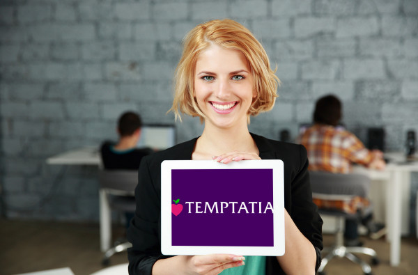 Sample branding #3 for Temptatia