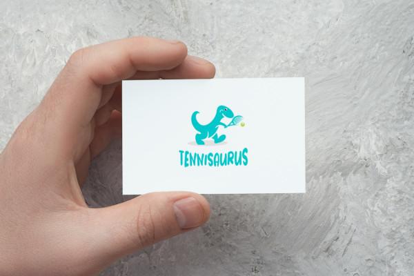 Sample branding #2 for Tennisaurus