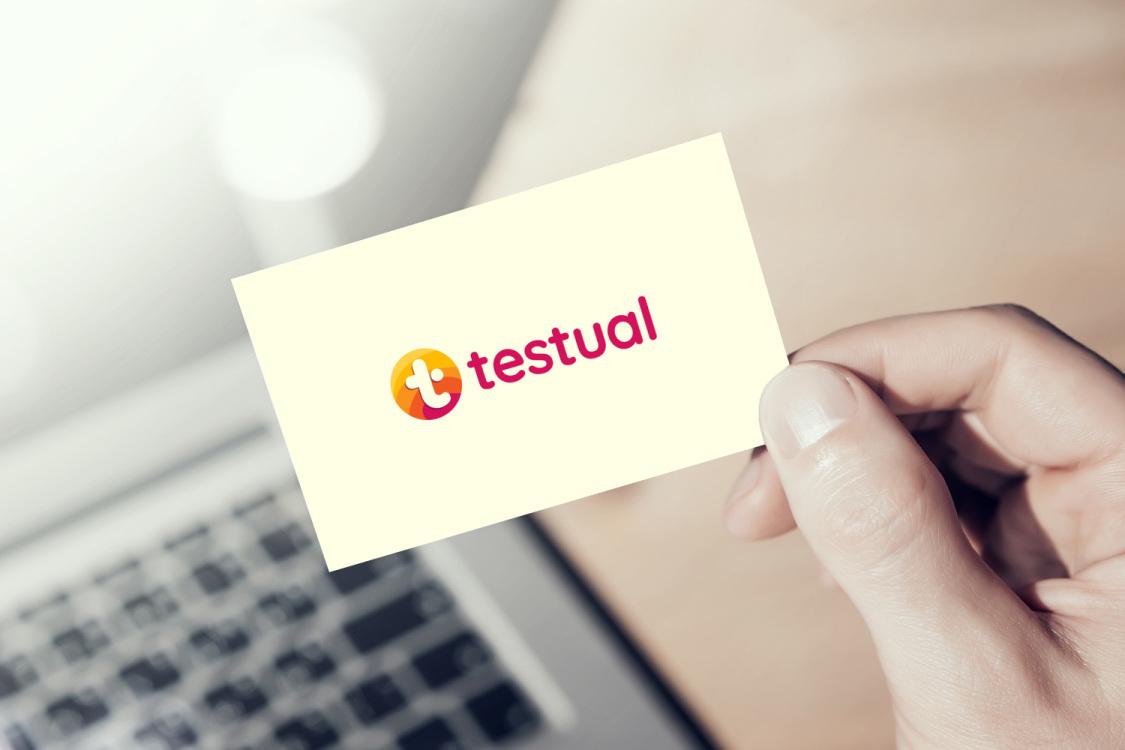 Sample branding #3 for Testual