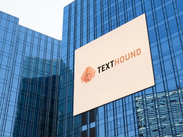 Sample branding #3 for Texthound
