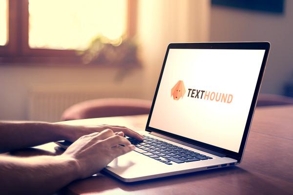 Sample branding #2 for Texthound
