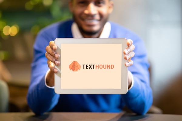 Sample branding #1 for Texthound