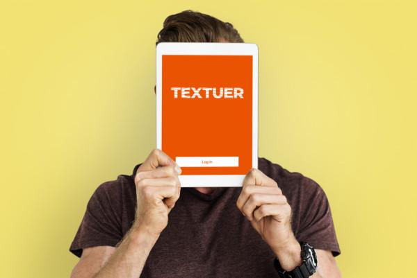 Sample branding #1 for Textuer