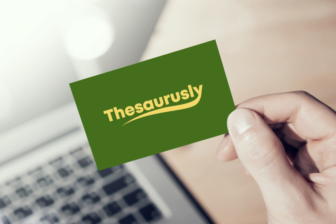 Sample branding #3 for Thesaurusly