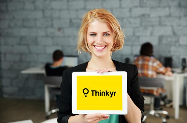 Sample branding #2 for Thinkyr