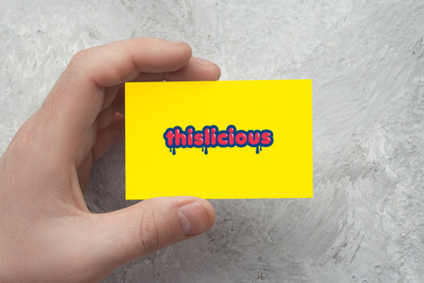 Sample branding #3 for Thislicious