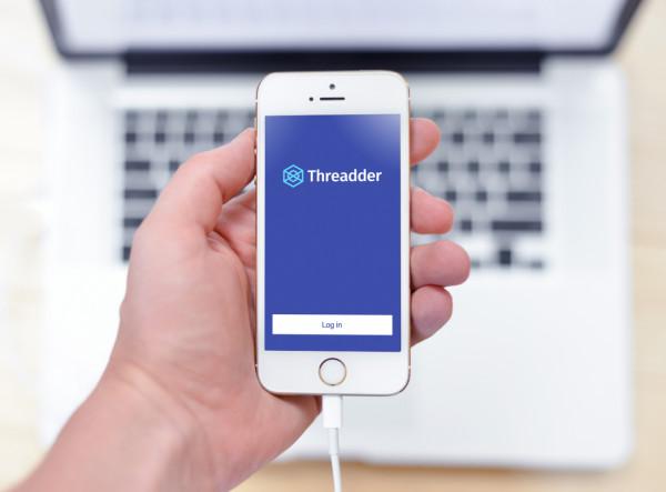 Sample branding #2 for Threadder