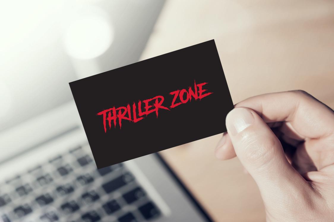 Sample branding #2 for Thrillerzone