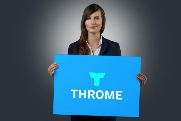 Sample branding #1 for Throme