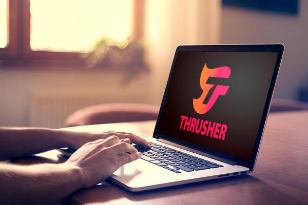 Sample branding #1 for Thrusher